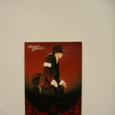 Fotos de Cantantes: MICHAEL JACKSON TARJETA (CARD) COLECCIÓN PANINI 2011 USA. Lote 32984073