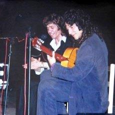 Fotos de Cantantes: CAMARÓN Y TOMATITO - FOTO ORIGINAL - 25 X 20'5 CM.. Lote 33075636