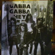 Fotos de Cantantes: POSTER THE RAMONES GABBA GABBA RECOGIDA EN VALENCIA PUNK ROCK SIMILAR A SEX PISTOLS DAMNED . Lote 53765599