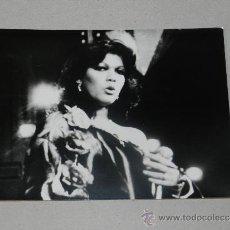 Fotos de Cantantes: (M-ALB3) FOTOGRAFIA ANGELA CARRASCO 18 X 13 CM, . Lote 34616710