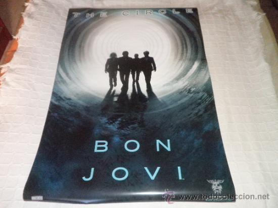 POSTER BON JOVI - THE CIRCLE - NUEVO (Música - Fotos y Postales de Cantantes)