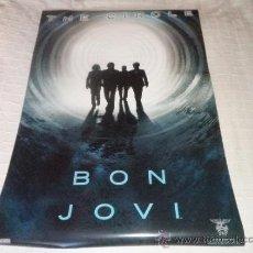Fotos de Cantantes: POSTER BON JOVI - THE CIRCLE - NUEVO. Lote 34876030
