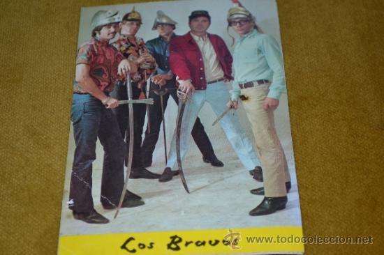POSTAL DE LOS BRAVOS-BERGAS-NÚMERO 732. (Música - Fotos y Postales de Cantantes)