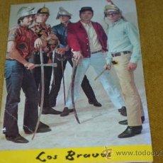 Fotos de Cantantes: POSTAL DE LOS BRAVOS-BERGAS-NÚMERO 732.. Lote 34937721