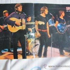 Fotos de Cantantes: THE HOLLIES - POSTER DE 28 X 41 DE LA REVISTA TELEGUIA. Lote 36991309