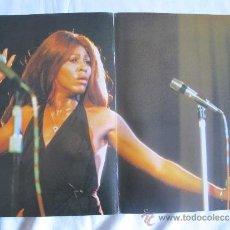 Fotos de Cantantes: TINA TURNER - POSTER DE 28 X 41 DE LA REVISTA POP. Lote 36992032