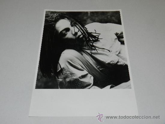 (M-ALB3) FOTOGRAFIA CANTANTE- 24 X 18 CM, (Música - Fotos y Postales de Cantantes)