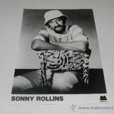 Fotos de Cantantes: (M-ALB3) FOTOGRAFIA SONNY ROLLINS- 24 X 18 CM, . Lote 37221201
