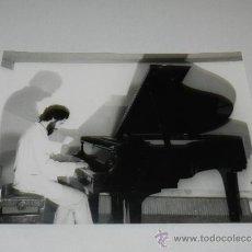 Fotos de Cantantes: (M-ALB3) FOTOGRAFIA PIANISTA - 24 X 18 CM, . Lote 37221535