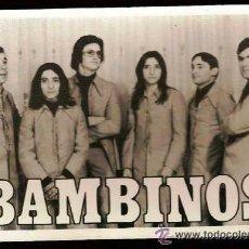 Fotos de Cantantes: BAMBINOS. Lote 37333753