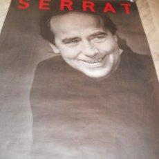 Photos de Chanteurs et Chanteuses: POSTER SERRAT - OFICIAL - GIRA SOMBRAS DE LA CHINA - 1998-1999. Lote 37339907