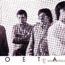 Fotos de Cantantes: POSTAL DEL GRUPO MUSICAL POETAS - AÑOS 60 . Lote 37518830