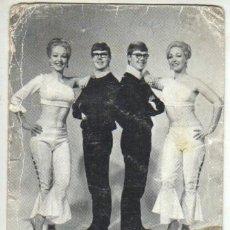 Fotos von Musikern - foto postal the doublettes - dedicada - 37578738