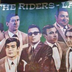 Fotos de Cantantes: CARTEL GRAN FORMATO 98 X 67 / ORQUESTA THE RIDERS LAY / AÑO 1968 / TAMARITE DE LITERA / HUESCA. Lote 193380266