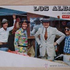 Fotos de Cantantes: LOS ALBAS - FOTO PROMOCIONAL. Lote 38829819