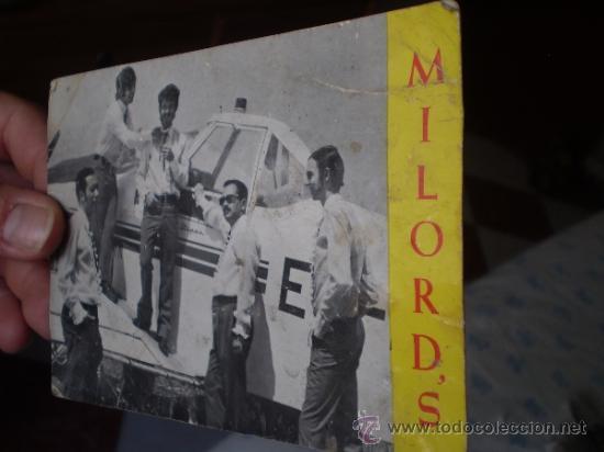 Fotos de Cantantes: ANTIGUA POSTAL GRUPO MILORDS ,REUS,TARRAGONA,AUTOGRAFIADA AÑOS 60 - Foto 6 - 39147075