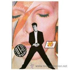 Fotos de Cantantes: DAVID BOWIE - SOUND+VISION TOUR 1990 - POSTAL PROMOCIONAL BARCELONA. Lote 39171556