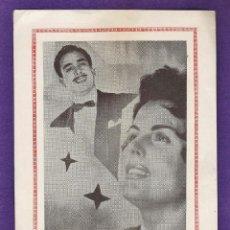 Fotos de Cantantes: FOLLETO PUBLICITARIO - DONCOS AND MARY - BARCELONA - AÑOS 50 - RD6. Lote 39464377
