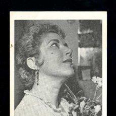 Fotos de Cantantes: MARIA MATILDE ALMENDROS. *EL BATACLAN. PARIS 1969* DORSO IMPRESO.. Lote 39809546