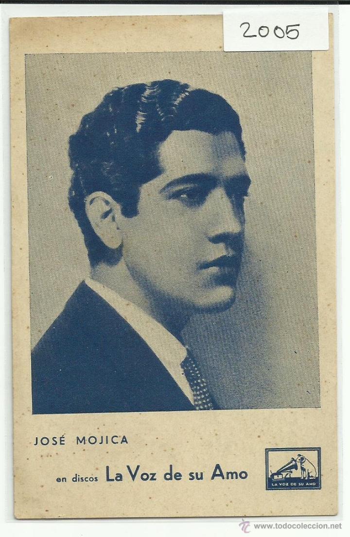 JOSE MOJICA - DISCOS LA VOZ DE SU AMO - (2005) (Música - Fotos y Postales de Cantantes)