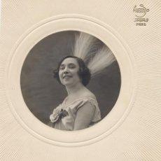 Fotos de Cantantes: ALFONSO. LA CANTANTE CONSUELO MAYENDIA. 1918 ORIGINAL DE EPOCA. Lote 40102160