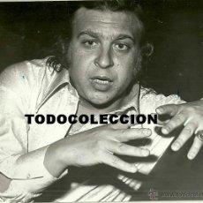 Photos de Chanteurs et Chanteuses: JUAN PEÑA (EL LEBRIJANO) FOTOGRAFIA 18 X 24 CTMS.. Lote 40138557