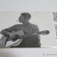 Fotos de Cantantes: FRANCESC PI DE LA SERRA POSTAL PROMOCION EDIGSA REVERSO IMPRESO. Lote 41404358