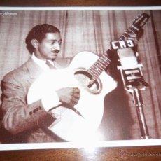 Fotos de Cantantes: FOTO DE OSCAR ALEMAN (18 CM X 25 CM) - SEPIA - NUEVA - UNICA!!. Lote 41612030