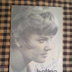 Fotos de Cantantes: POSTAL DE DISCOS EKIPO DE LA CANTANTE BETINA AÑOS 60-70.AUTOGRAFIADA. Lote 42737255