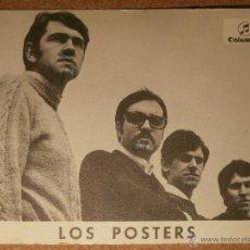 Fotos de Cantantes: ANTIGUA POSTAL DISCOGRÁFICA - LOS POSTERS - COLUMBIA. Lote 43211432