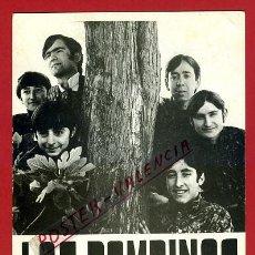 Fotos de Cantantes: FOTO TIPO POSTAL , TARJETA, PUBLICIDAD LOS BAMBINOS, ORIGINAL, P95301. Lote 44038784