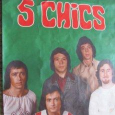 Fotos von Musikern - ELS 5 XICS - RARO POSTER ORIGINAL DE EPOCA 94 X 64 - 45666245
