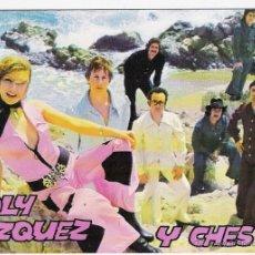 Fotos de Cantantes: LOLY VAZQUEZ Y CHES-POSTAL. Lote 45936061