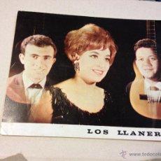 Fotos de Cantantes: ANTIGUA POSTAL O FOTOGRAFIA PROMOCIONAL LOS LLANEROS - DISCOS ZAFIRO. Lote 46341808