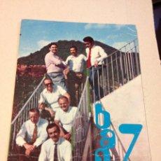 Fotos de Cantantes: ANTIGUA POSTAL O FOTOGRAFIA PROMOCIONAL GRUP MUSICAL BAND 7 - SANT JOAN LES FONTS. Lote 46342181