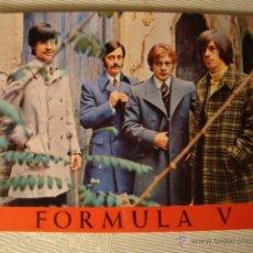 Fotos de Cantantes: FOTO TARJETA GRUPO FORMULA V FOTO MERIDIANO AÑO 1968. REF.14. Lote 46355662