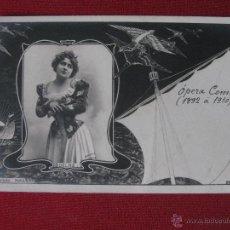 Fotos de Cantantes: DELNA. OPERA COMICA.1892 A 1910.. Lote 46575983