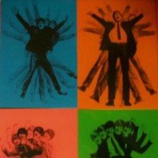 Fotos de Cantantes: LOTE DE 4 POSTALES ESPAÑOLAS BEATLES POSTAL ESPAÑA GRAFICAS DEL MEDITERRANEO. Lote 46703393