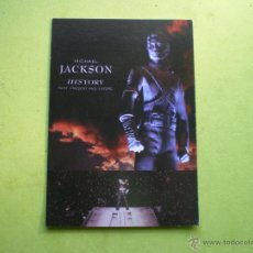 Fotos de Cantantes: POSTAL MICHAEL JACKSON HISTORY LIVEWIRE LW526 ENGLAND. Lote 47154844