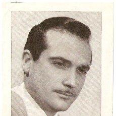 Fotos de Cantantes: RAMON CALDUCH. LETRA DETRAS DE AMOR ABISMO DULCE. REVISTA FLORITA. 11 X 16 CMS. VELL I BELL.. Lote 47194242