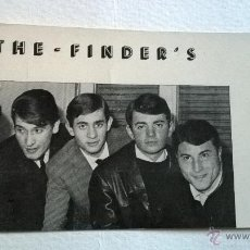 Fotos de Cantantes: THE FINDER'S POSTAL. Lote 47205990