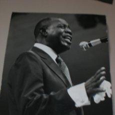 Fotos de Cantantes: FOTO ORIGINAL DE LOUIS ARMSTRONG. Lote 47443983