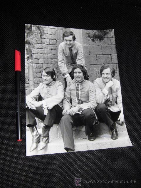LOS ALBAS FOTOGRAFIA ORIGINAL EPOCA COLECCION CONJUNTOS POP ESPAÑA AÑOS 60 DISCOGRAFICA (Música - Fotos y Postales de Cantantes)