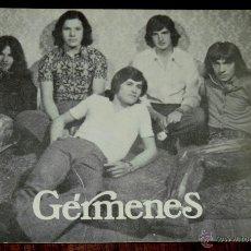 Fotos de Cantantes: FOTO POSTAL DE GRUPO GERMENES, CONJUNTO MUSICO VOCAL, GUMIEL DEL MERCADO (BURGOS), SIN CIRCULAR. Lote 47710208