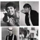 Fotos de Cantantes: RAPHAEL, LOTE DE 6 FOTOGRAFÍAS ORIGINALES TAMAÑO 18X24CM PROCEDENTES DE EDITORIAL, PUBLICADAS. VER.. Lote 47778588