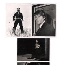 Fotos de Cantantes: RAPHAEL, LOTE DE 6 FOTOGRAFÍAS ORIGINALES TAMAÑO 18X24CM PROCEDENTES DE EDITORIAL, PUBLICADAS. VER.. Lote 47778759