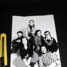 Fotos de Cantantes: MOCEDADES FOTOGRAFIA ORIGINAL PRENSA ESPAÑA AÑOS 70 PRINCIPIO PRIMERAS FORMACIONES. Lote 47827020