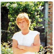 Fotos de Cantantes: FOTO PROMOCIONAL ANTIGUA JAVIER RCA MUSICA POP VINTAGE AÑO 1980.DISCOS RCA. Lote 48308094