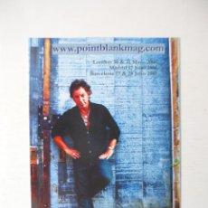 Fotos de Cantantes: POSTAL BRUCE SPRINGSTEEN. NUEVA. Lote 48929635
