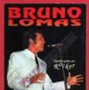 Fotos de Cantantes: POSTAL PUBLICIDAD CANTANTE BRUNO LOMAS, NACIDO PARA SER ROCKER , ORIGINAL. Lote 49368083
